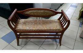 Мягкая мебель: купить Банкетка Б1 С1 орех, золото