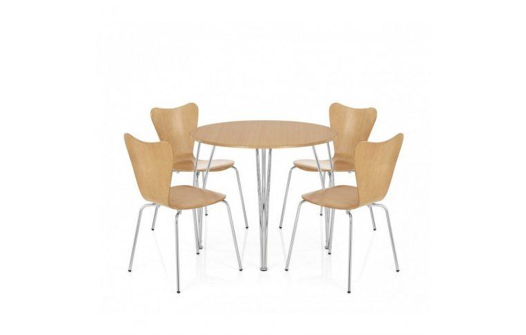 Кухонные стулья: купить Стул Ант, гнутая фанера, натуральный дуб - 2