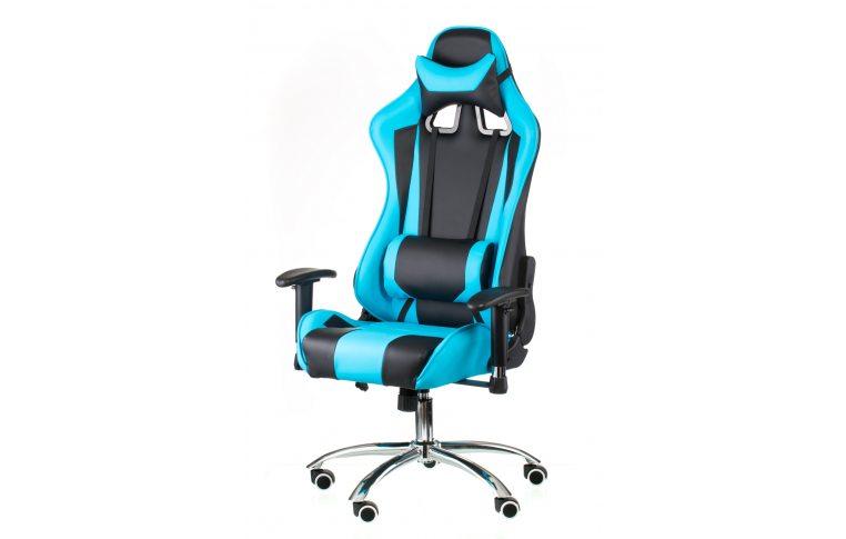 Геймерские кресла: купить Кресло ExtremeRace black/blue - 1