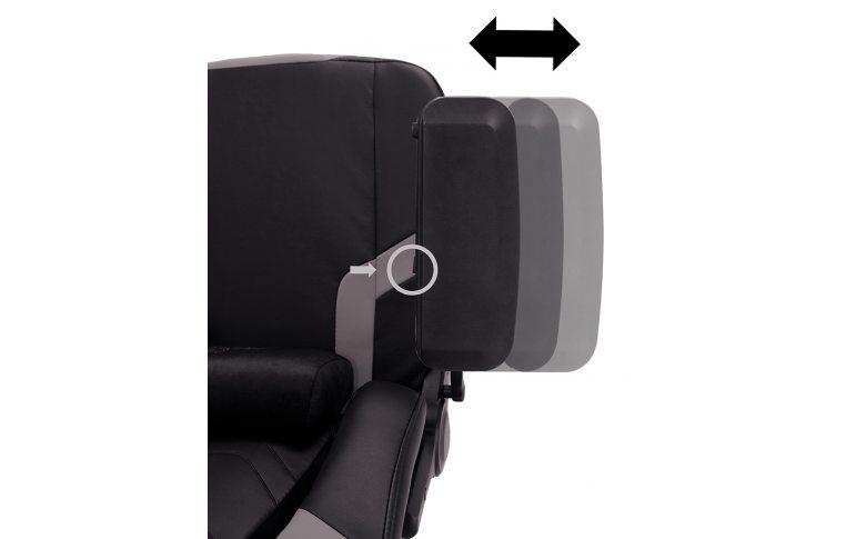 Игровые кресла: купить Кресло для геймеров Hexter xr r4d mpd mb70 Eco/01 Black/Grey - 12