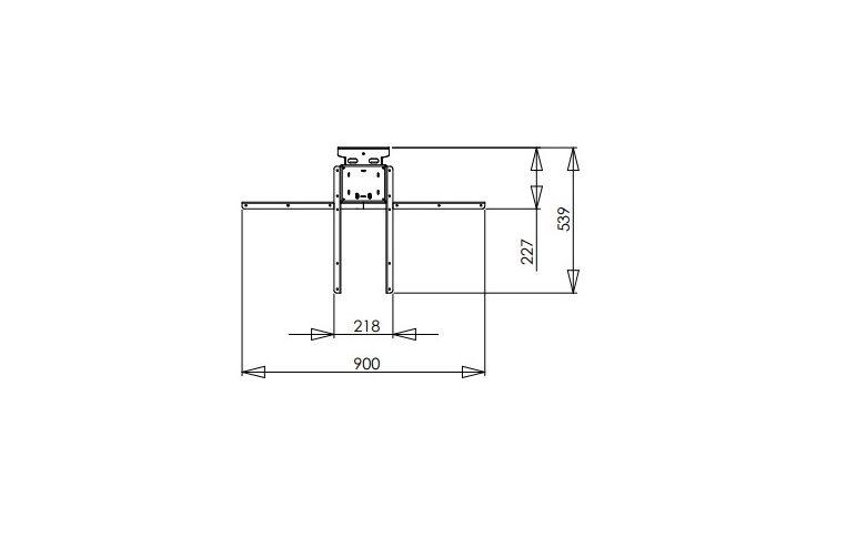 Эргономичные столы: купить Стол одноножный Conset 501-19- 7 Wall - 3