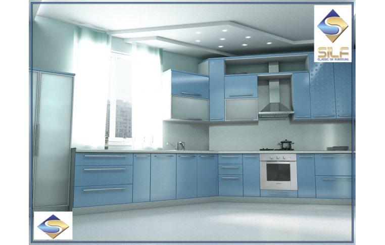 Кухни на заказ: купить Кухня под заказ Клео Сильф - 1