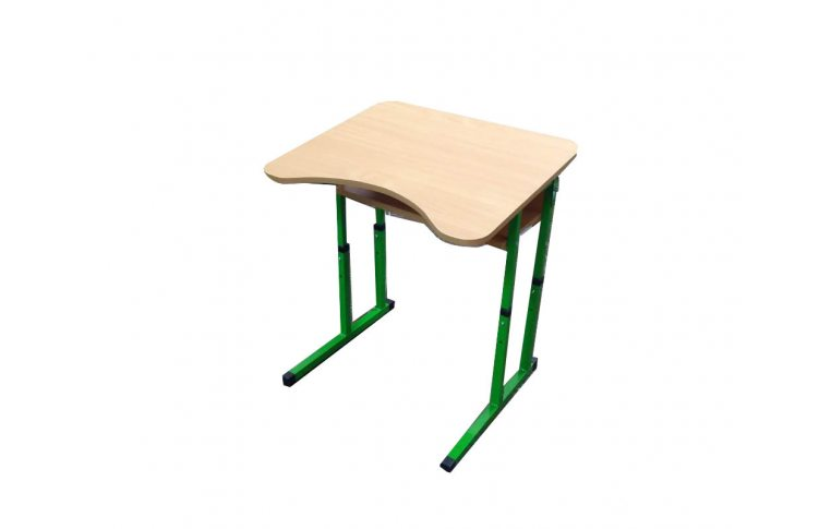 Школьные парты: купить Парта одноместная с регулировкой высоты и наклона столешницы Бук Сильф - 1