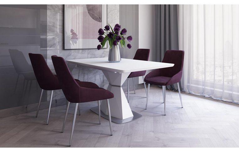 Кухонные столы: купить Стол Кристал белый - 2