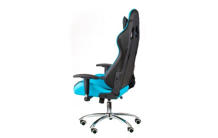 Геймерские кресла: купить Кресло ExtremeRace black/blue - 5