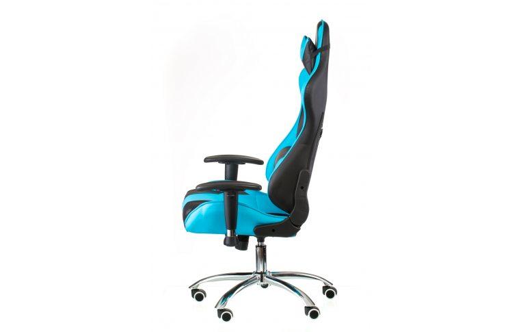 Геймерские кресла: купить Кресло ExtremeRace black/blue - 3