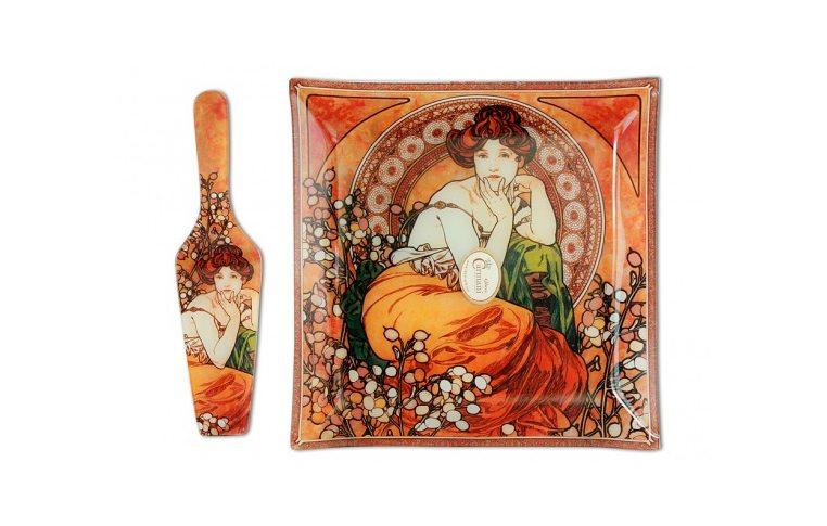 Декор для дома: купить Тарелка декоративная Топаз (А.Муха) - 1