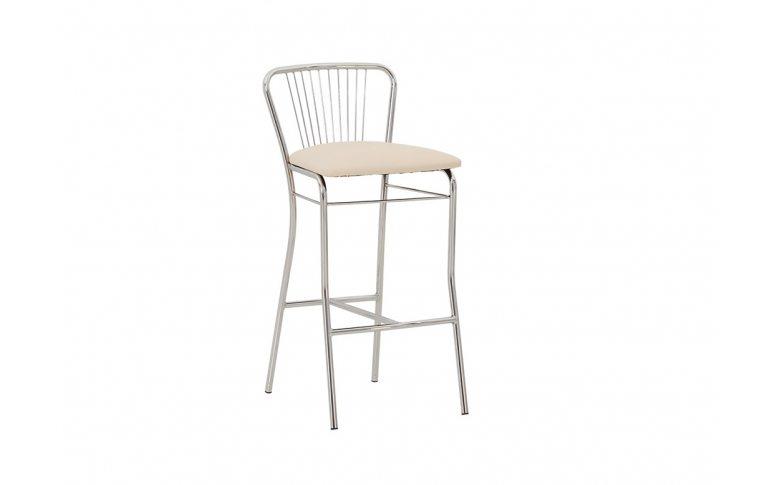 Барные стулья: купить Стул барный Neron Hoker Chrome - 1