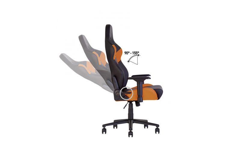 Игровые кресла: купить Кресло для геймеров Hexter pc r4d Tilt mb70 Eco/02 Black/Orange - 9