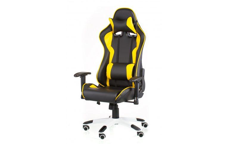 Геймерские кресла: купить Кресло ExtremeRace black/yellow - 1
