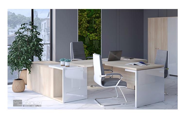 Кабинеты руководителя: купить Кабинет руководителя Глосс M-Concept - 1