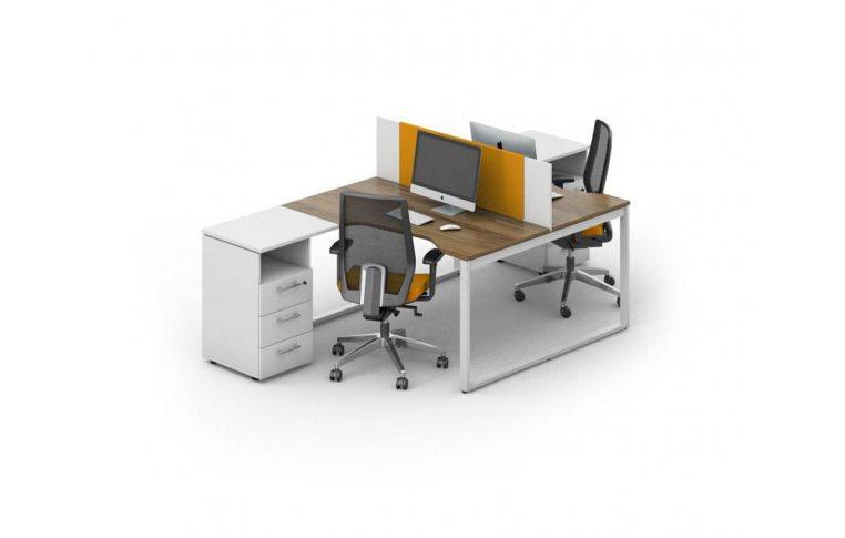 Офисные столы: купить Рабочее место персонала Джет композиция 6 M-Concept - 1