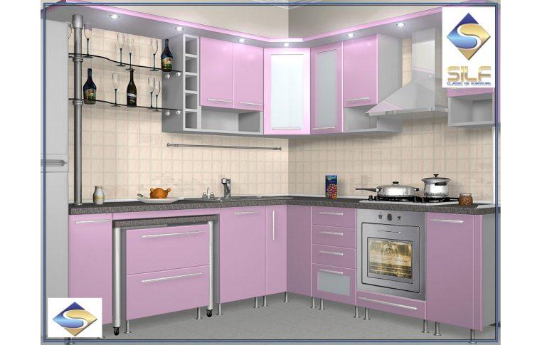Кухни на заказ: купить Кухня под заказ Сабрина Сильф - 1