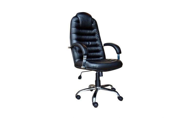Кресла для руководителя: купить Кресло Tunis P Steel chrome D-5 Примтекс - 1