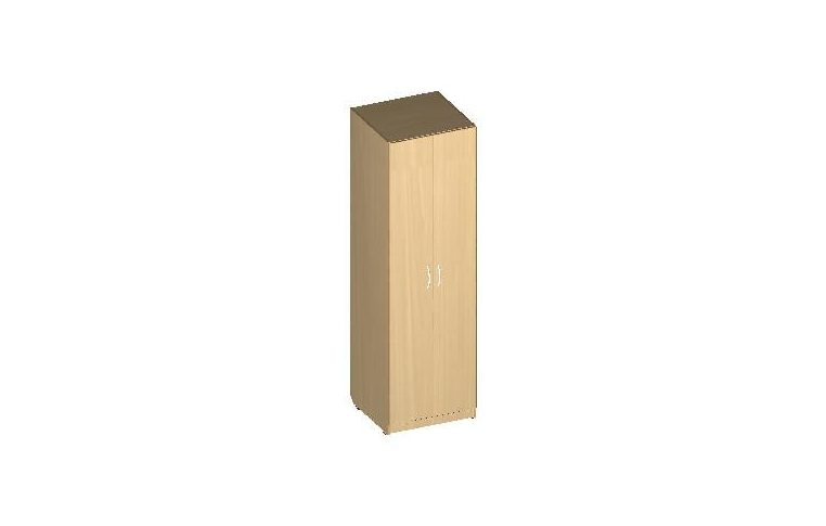 """Офисные шкафы: купить Шкаф для одежды серия """"БЮРО"""" ОБ1-301 (ДСП кальвадос) - 1"""