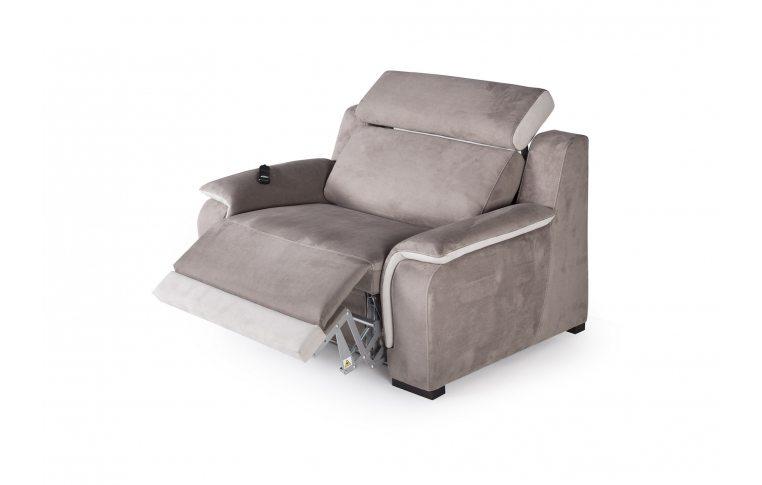 Итальянская мебель: купить Раскладное кресло-кровать Optimus Cubo Rosso - 2