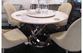 Кухонные столы: купить Круглый обеденный стол из Мрамора