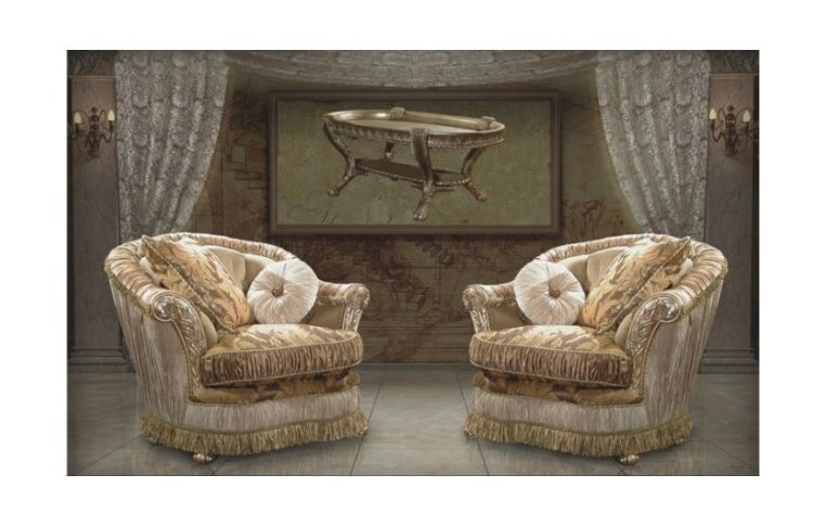 Мягкая мебель: купить Кресло Лувр - 1