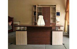 """Кабинет """"Зебрано"""" З-018 стол руководителя - Офисная мебель"""