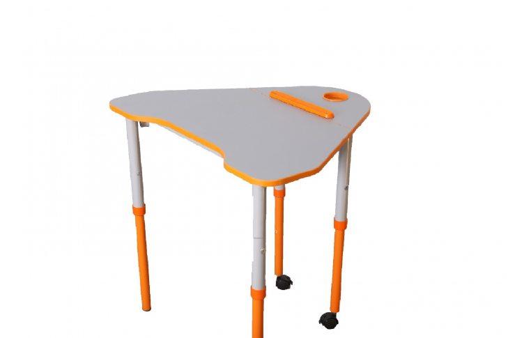 Школьные парты: купить Стол универсальный мобильный с регулировкой высоты и наклона столешницы - 1