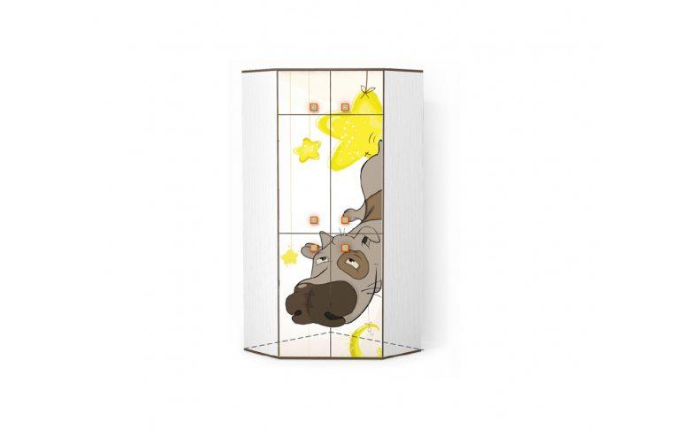 Детская мебель: купить Детский шкаф угловой Джой (Joy) LuxeStudio - 1