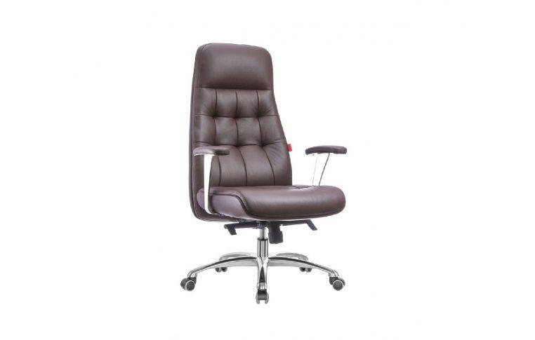 Кресла для руководителя: купить Кресло A1617, коричневый - 1