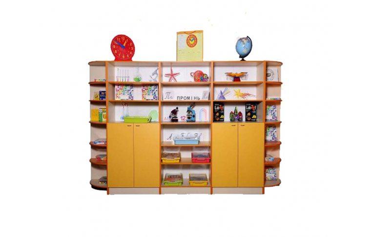 Школьные шкафы: купить Шкаф для хранения дидактического материала - 1