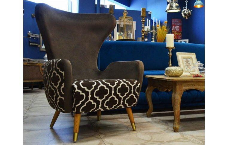 Кресла: купить Кресло лаунж Rist коричневое - 2
