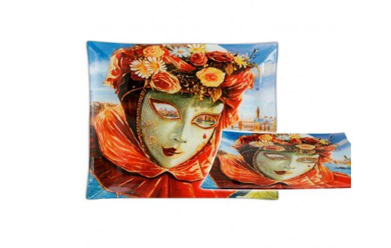 Декор для дома: купить Стеклянная тарелка Левин Весна - 1