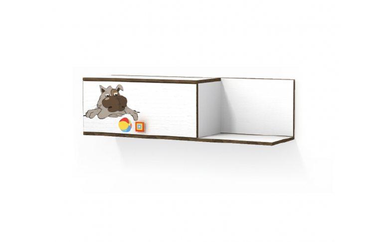 Детская мебель: купить Детская полка навесная Джой (Joy) LuxeStudio - 1