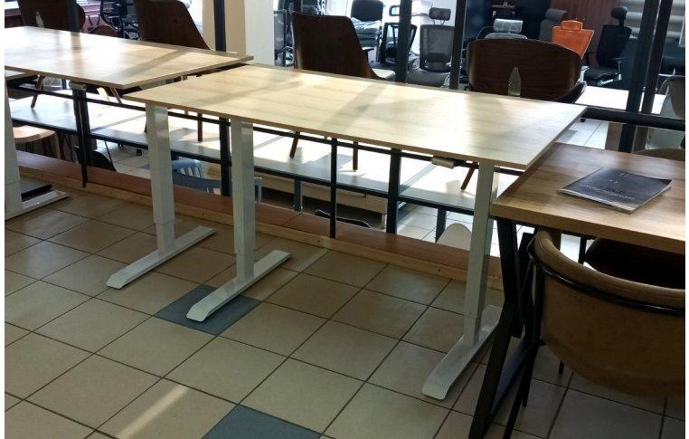 Эргономичные столы: купить Стол с механической регулировкой высоты Aoke Manual - 5