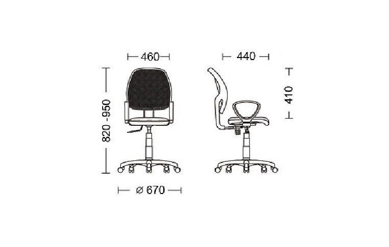 Компьютерные кресла: купить Кресло Alfa (Альфа), GTP OH/5 ZT-13 - 2