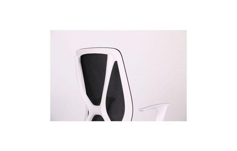 Кресла для руководителя: купить Кресло Nickel White сиденье Сидней 07 спинка Сетка SL-00 черная - 6