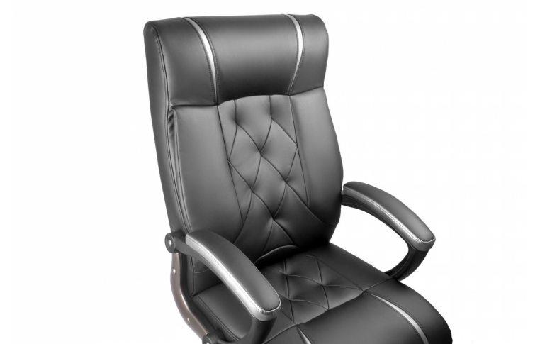 Кресла для руководителя: купить Кресло Barsky Design PU black BD-01 - 4