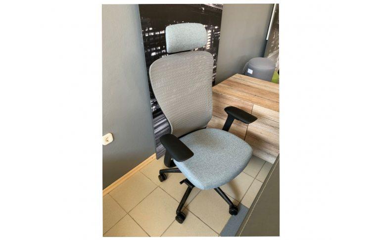 Кресла для руководителя: купить Эргономичное кресло для компьютера In-point Grey Kreslalux - 2