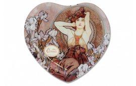 Декор для дома: купить Стеклянная тарелка Альфонс (А.Муха)