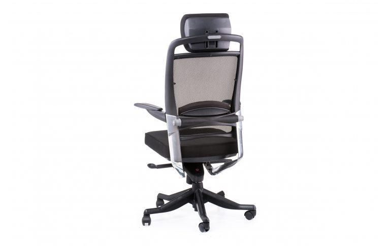 Офисные кресла: купить Кресло FULKRUM BLACK FABRIC, BLACK MESH - 4