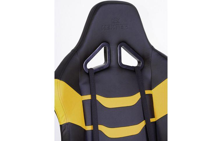Игровые кресла: купить Кресло для геймеров Hexter rc r4d Tilt mb70 Eco/02 Black/Yellow - 9
