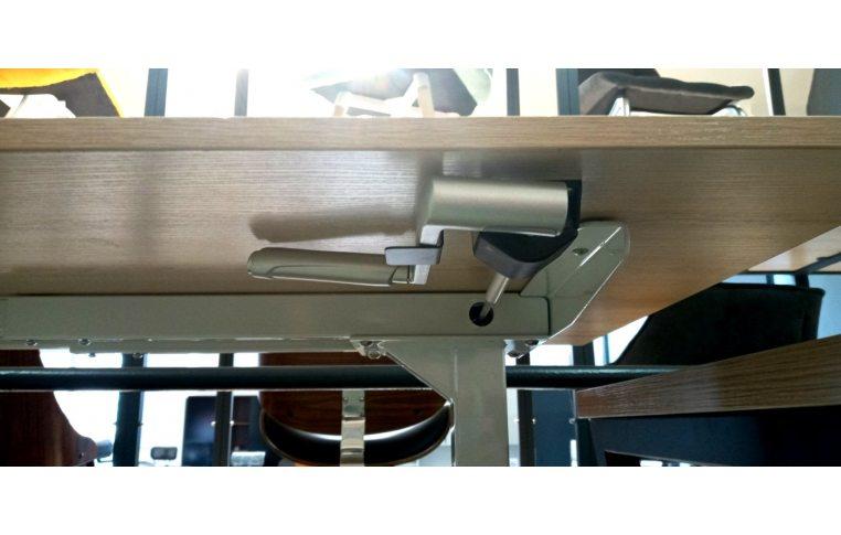 Эргономичные столы: купить Стол с механической регулировкой высоты Aoke Manual - 4