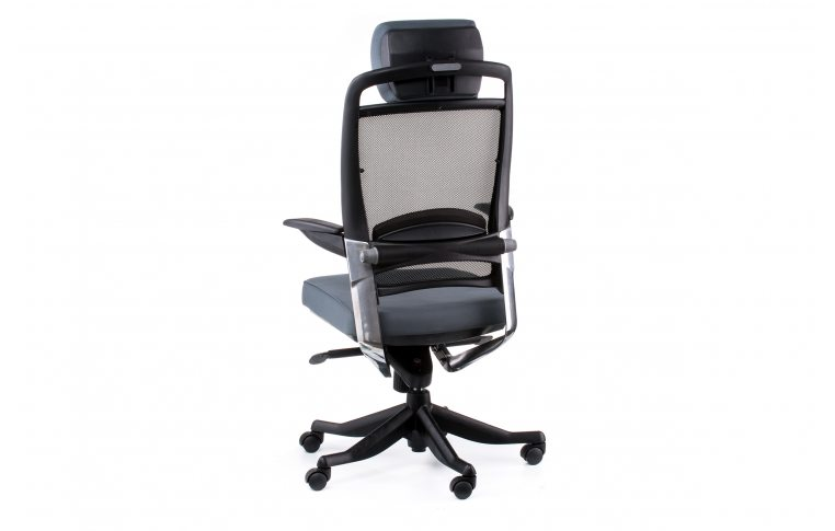 Офисные кресла: купить Кресло FULKRUM SLATEGREY FABRIC, SLATEGREY MESH - 4