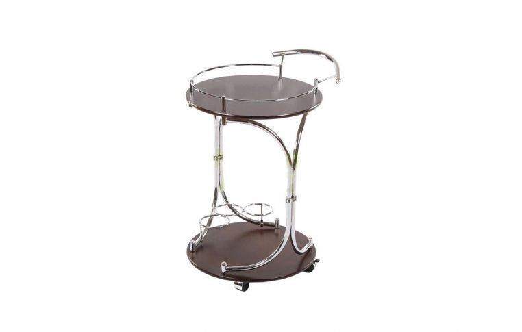 Журнальные столы: купить Стол сервировочный SC-5088-WD(G) передвижной - 1