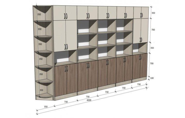 Школьные шкафы: купить Стенка школьная универсальная НШ-СГ - 1