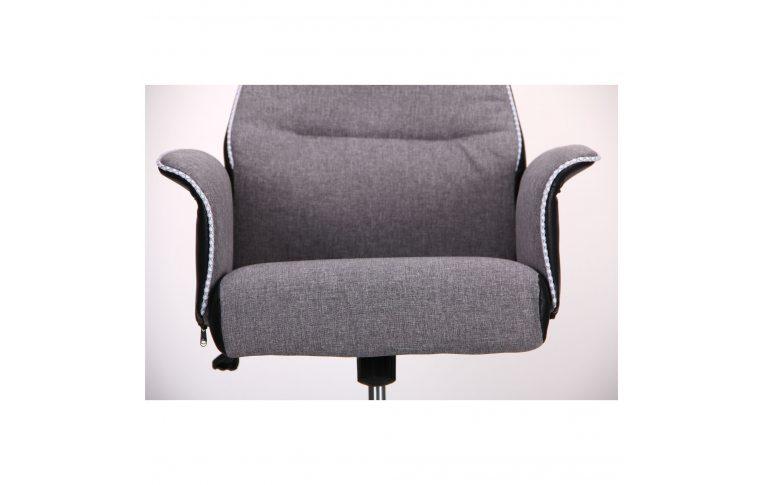 Кресла для руководителя: купить Кресло Brooklyn светло-серый, черный - 5