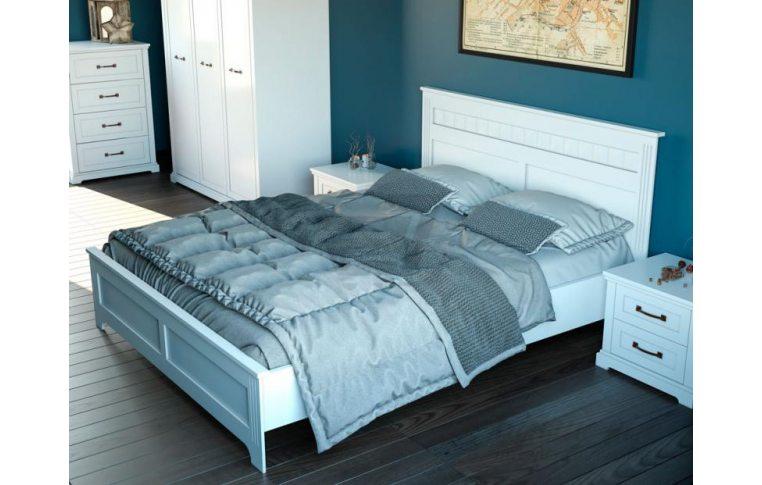 Деревянные кровати: купить Кровать Aqua Rodos Bianca BIABED-1800 - 2