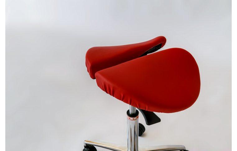 Эргономичные стулья: купить Стул-седло Salli Chin красный - 3