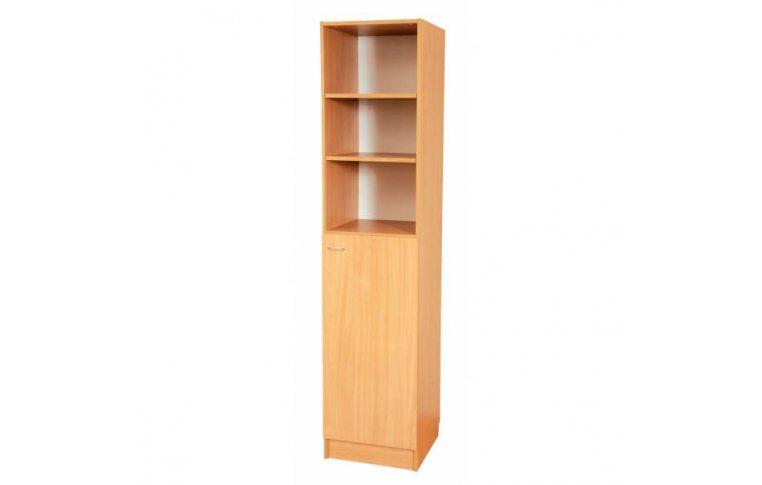 Школьные шкафы: купить Пенал комбинированный с открытым верхом С-030 - 1