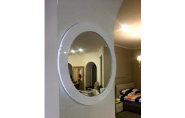 Зеркало круг - Зеркала в спальню