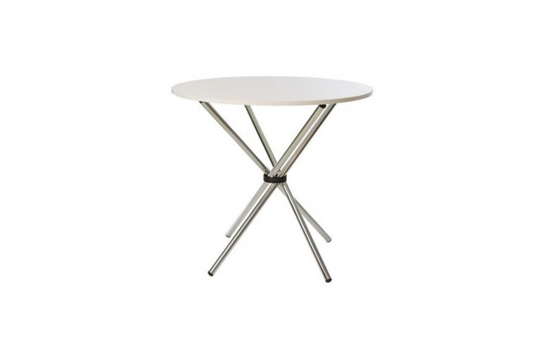Кухонные столы: купить Стол Aqua GL chrome столешница ДСП - 1