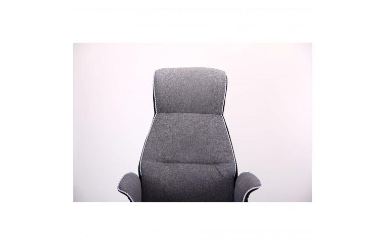 Кресла для руководителя: купить Кресло Brooklyn светло-серый, черный - 4