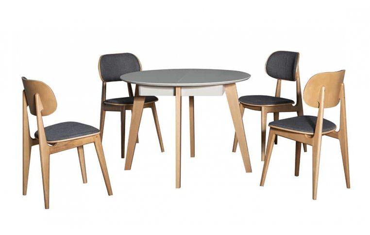 Кухонные столы: купить Стол Марс серый дуб Павлик - 6